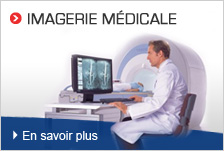 Imagerie médicale (CT, IRM, Ultrason...)